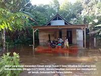 Banjir di Hilisebua Dibutuhkan Perbaikan Drainase