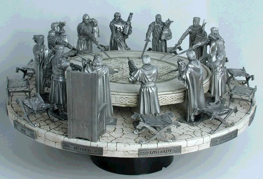 Conseil dans l 39 esp rance du roi - La table ronde du roi arthur ...