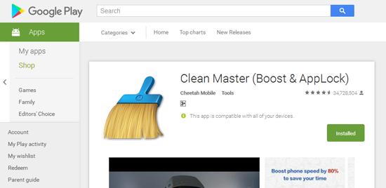 Perisian Google Play ada iklan tak senonoh