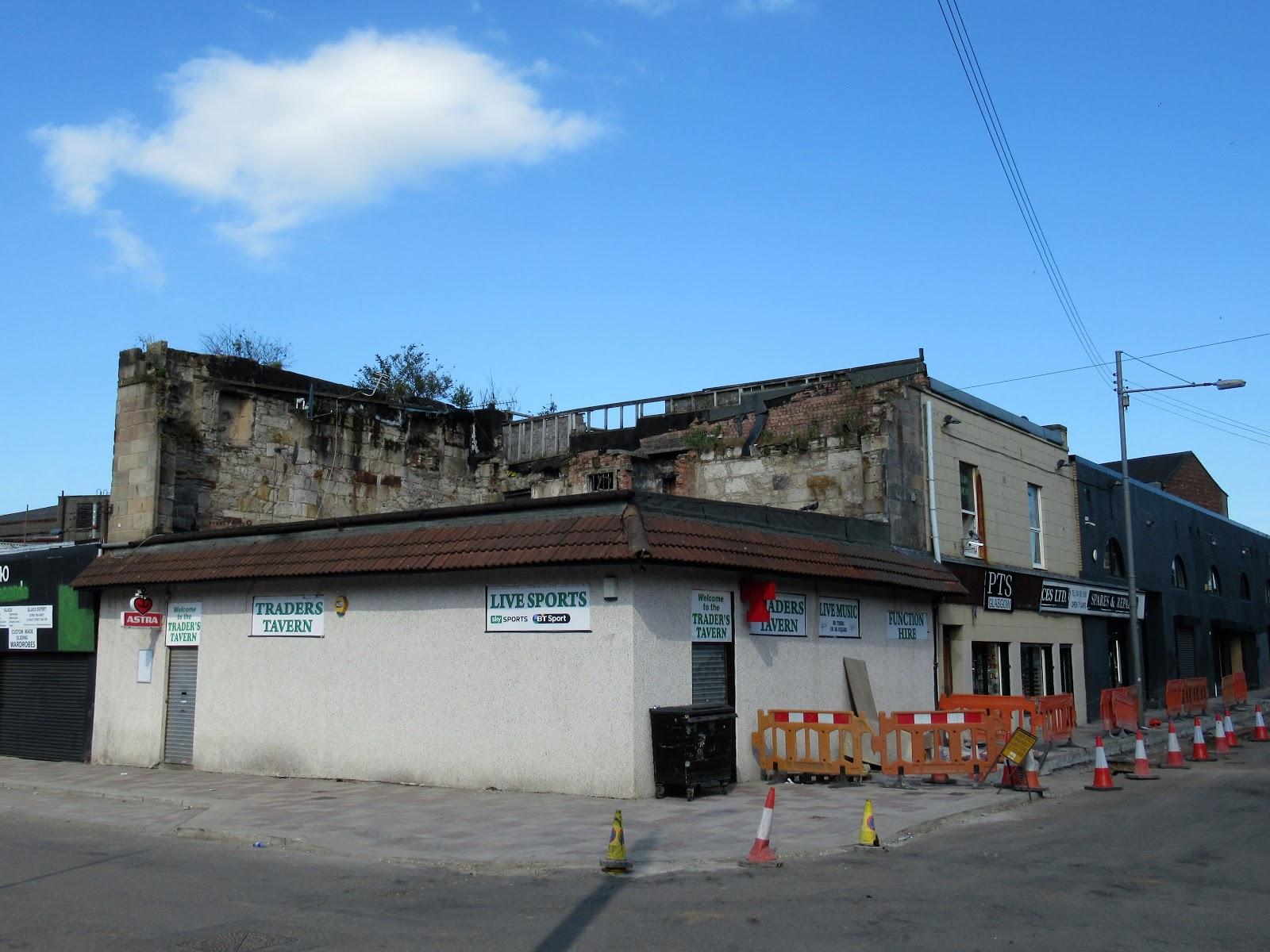 Martin Brookes Oakham Rutland England: The Barras Area Glasgow Scotland