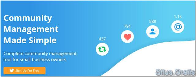 Commun.it membantu Anda mengelola komunitas Twitter dengan mudah