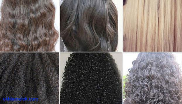 أنواع الشعر و طرق العناية به