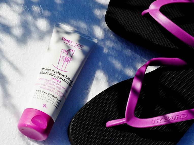 SheFoot kosmetyki do pielęgnacji stóp - krem odświeżający