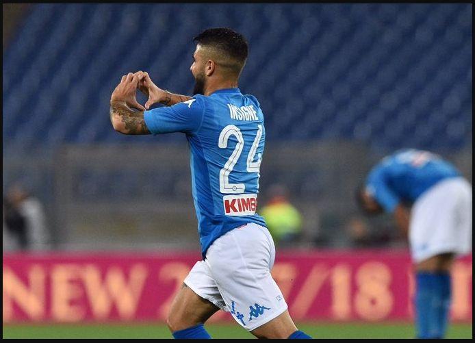 Il Napoli vince a Roma con Insigne e fa filotto: +5 dalla Juventus in classifica