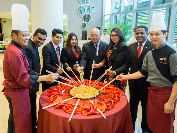 Eastin Hotel Penang's Chinese New Year Buffet and Yee Sang Take Away 2018