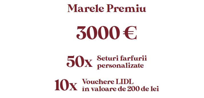 Concurs Camara Noastra - Castiga 3000 € - promotie - 2021 - lidl - concursuri - online - bani - vouchere