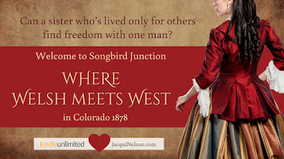 Welcome Songbird Junction where Welsh meets West in Colorado 1878.