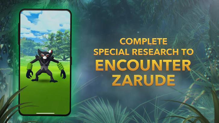 Zarude Pokémon GO