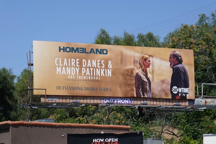 Homeland final season Emmy FYC billboard