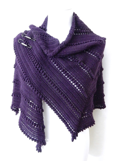 the curio crafts room thecuriocraftsroom crochet pattern shawl wrap
