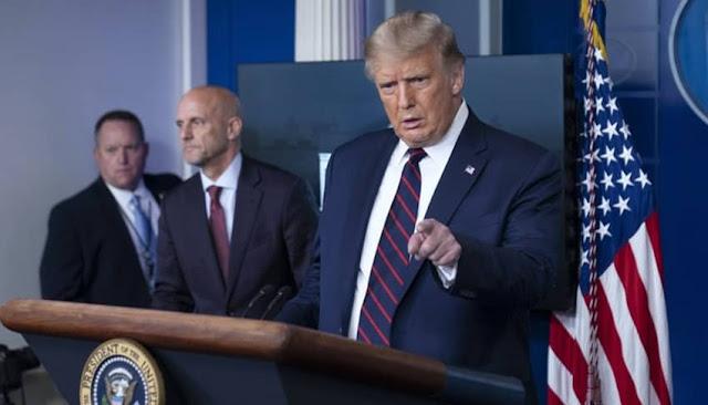 Trump aprueba uso de plasma convaleciente para tratar el COVID-19 en Estados Unidos