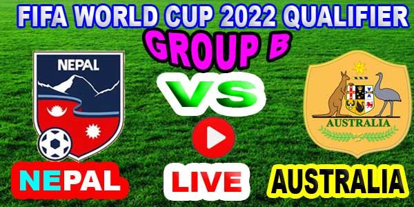 Australia vs Nepal live