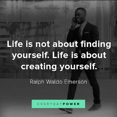Creating Yourself Oriented Quotes