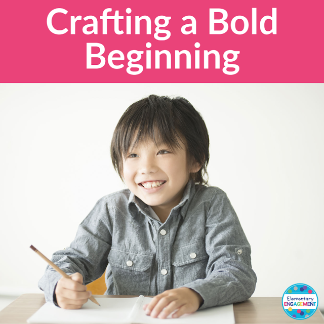 This post shares strategies and resources to help you guide your students through the process of crafting a strong lead for their personal narratives.