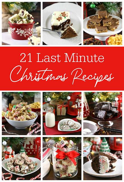 21 Last Minute Christmas Recipes