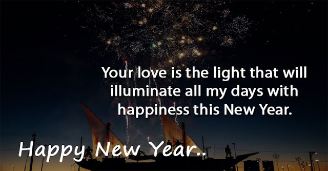 Happy New Year Love Quotes For Girlfriend