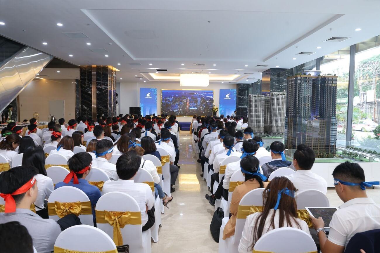 Đội ngũ tham gia bán hàng dự án Sunshine Minh KHai