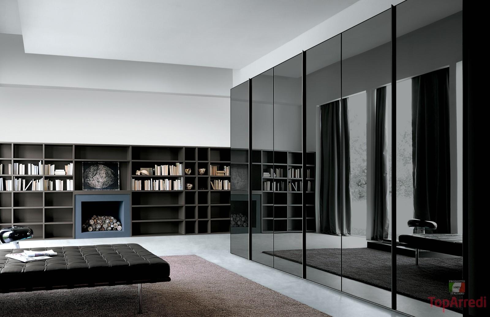 Arredamento e mobili online le nuove tendenze per la zona - Parete nera camera da letto ...