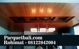 plafon kayu jakarta