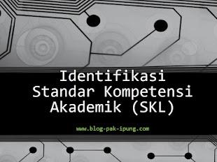Identifikasi Standar Kompetensi Akademik (SKL)