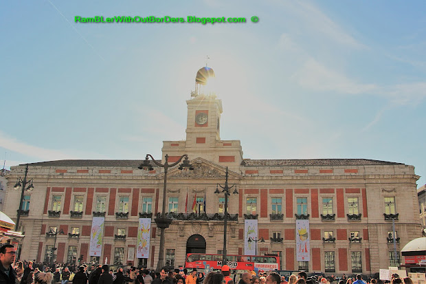 Rambler Borders Puerta Del Sol Sun Gate Madrid