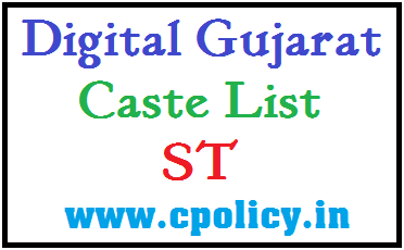 CASTE LIST FOR ST (Scheduled Tribe) CATEGORY IN PDF DOWNLOAD