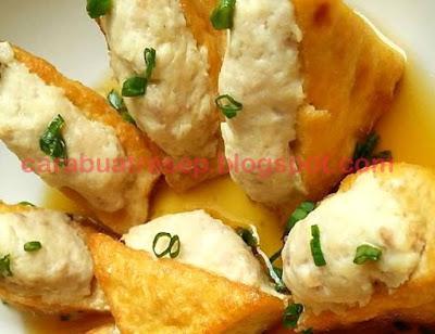 Foto Resep Tim Tahu Daging Ayam Sederhana Spesial Asli Enak