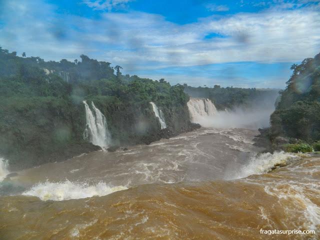 Rio Iguaçu e Cataratas do Iguaçu
