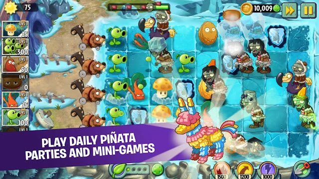 Plants vs Zombies 2 Free For Android APK