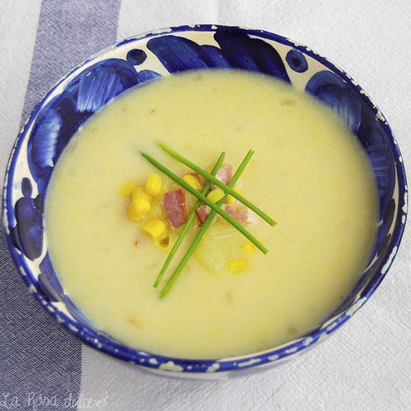 Sopa de maiz / Corn Chowder