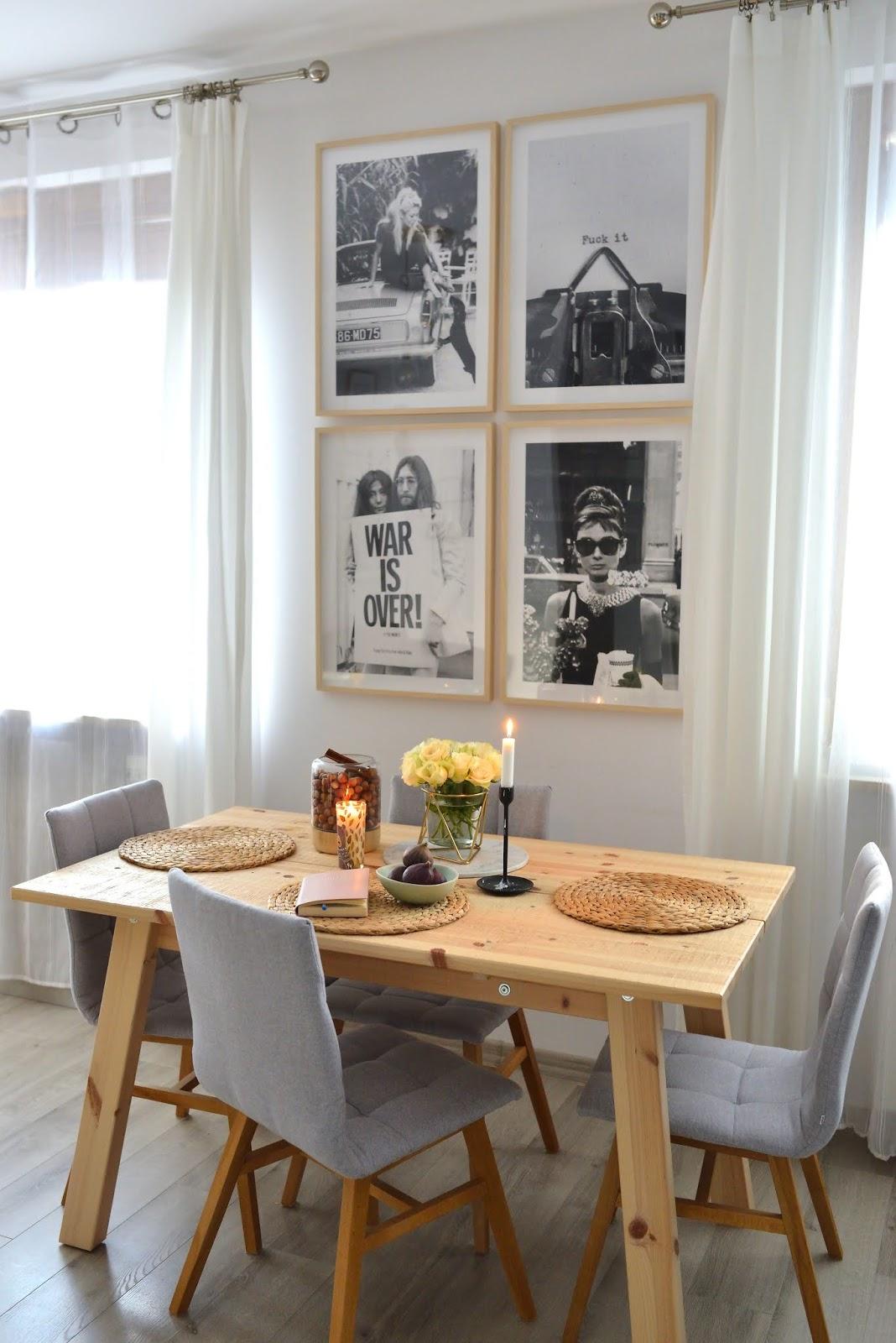 Galeria ścienna w mieszkaniu- czyli, jak szybko odświeżyć wnętrze.