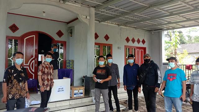 Pesta Demokrasi Di Era Pandemik, Pemilihan RT/RW Warga Bojongkokosan Dilakukan Door to Door