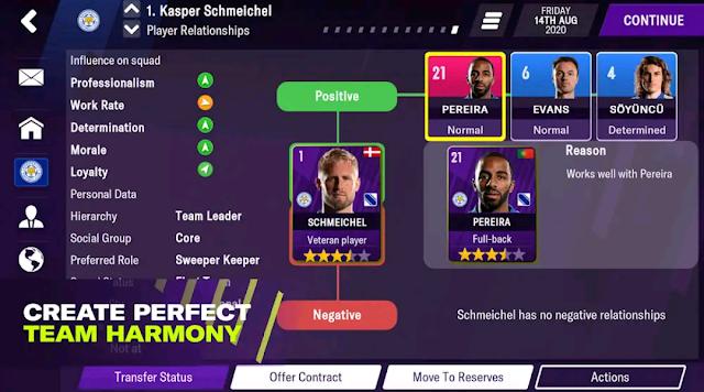 تحميل لعبة Football Manager 2021 Mobile مهكرة مجانا للاندرويد 2021 اخر اصدار