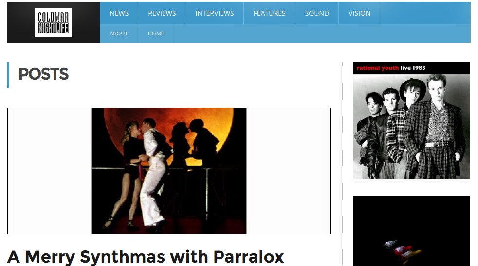 A Merry Synthmas with Parralox