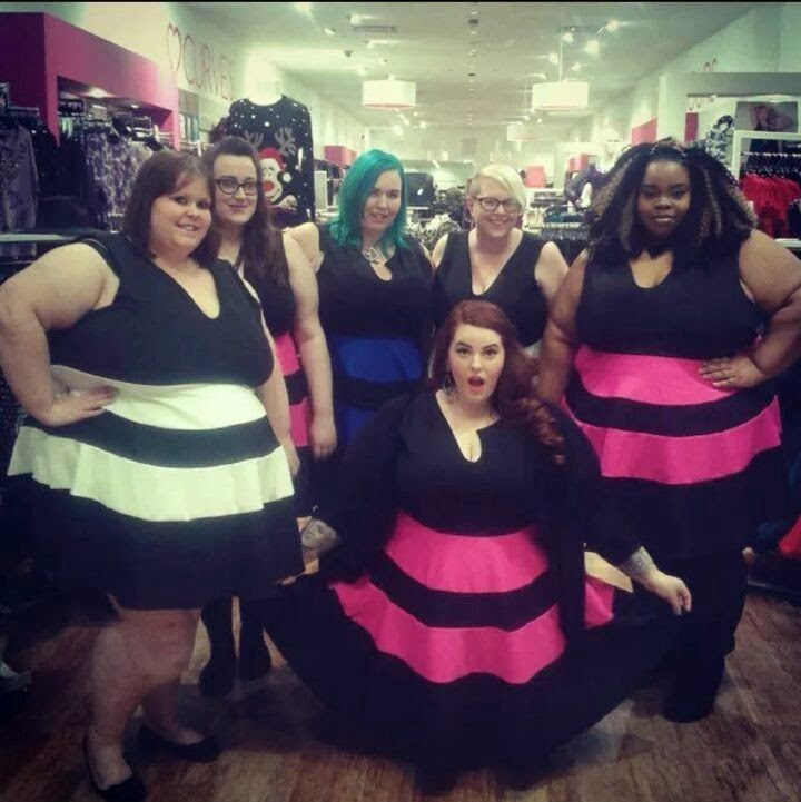 Tess Munster, BBW, plus size bloggers, Birmingham, Yours Clothing, Bullring