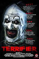 affiche du film d'horreur TERRIFIER avec Art the clown