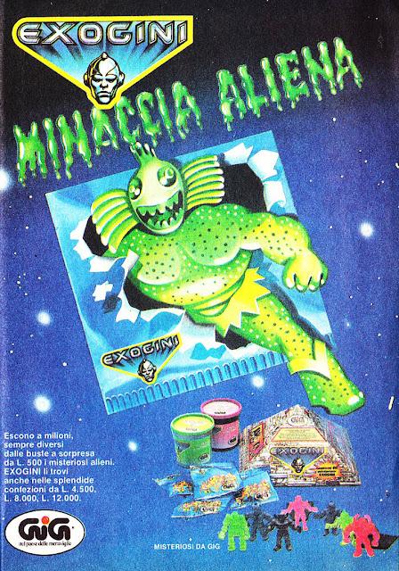 Exogini pubblicità 1988