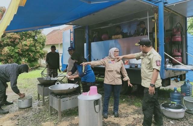 Pemprov Banten Dirikan 7 Dapur Umum Bagi Pengungsi