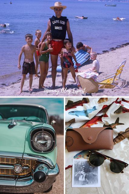 1960s Cape Cod Classic Chevy Ray Ban Sunglasses