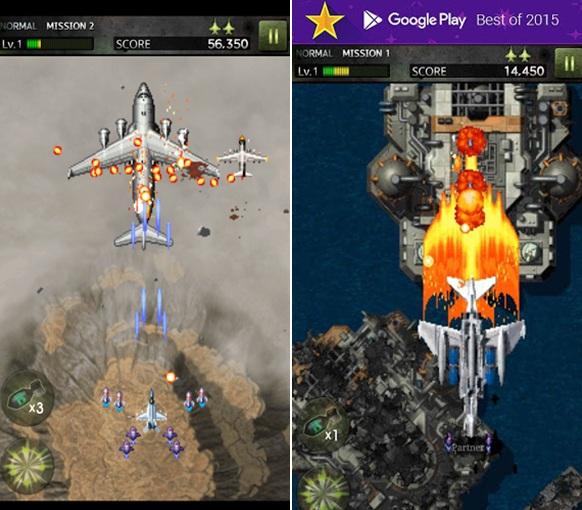Game Pesawat Tempur Offline Android