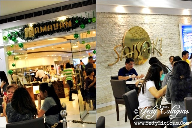 Kamayan Buffet and Saisaki Buffet