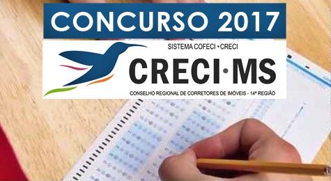 Concurso CRECI-MS 2017