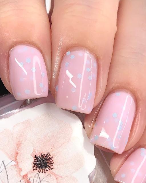 my stunning nails cotton tail 25 Sweetpeas