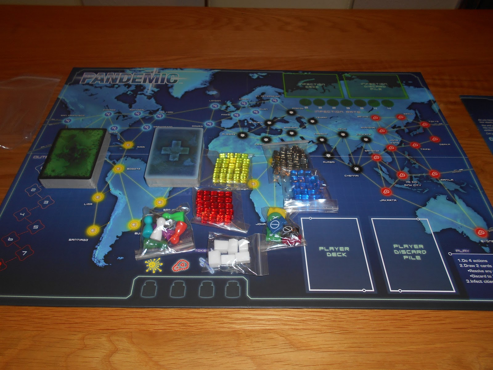 the garage gamers modding your pandemic board game storage