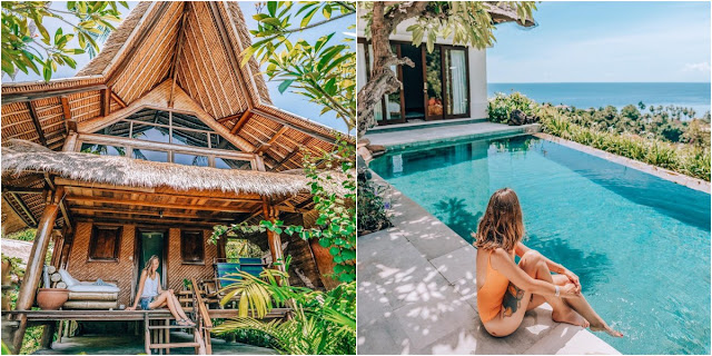 8 Hotel  Dengan Kolam Renang Infinity  di Bali yang Menyatu Dengan Alam