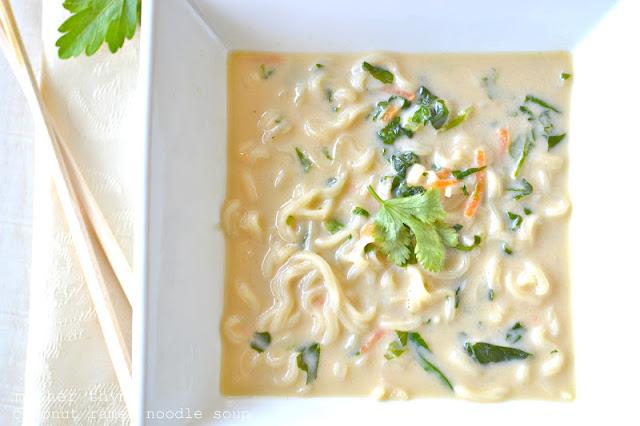 Coconut Ramen Noodle Soup
