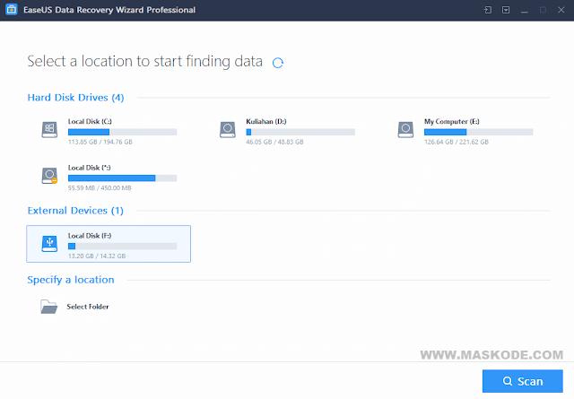Cara Mengembalikan File yang Terhapus Permanent