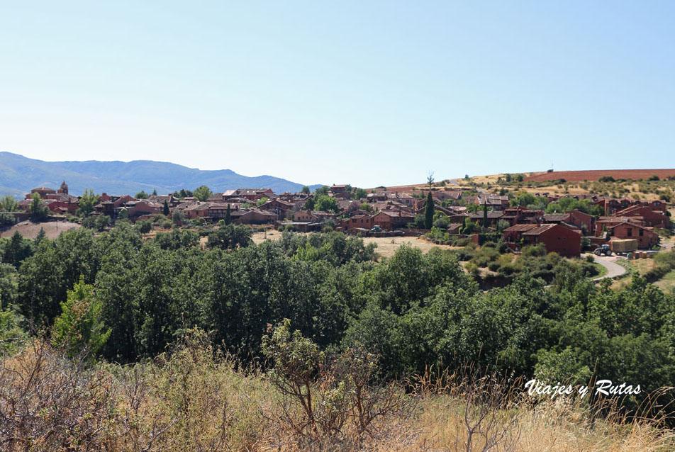 Vista general de Madriguera, Segovia