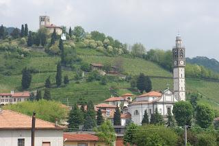 The village of Sotto il Monte Giovanni XXXIII