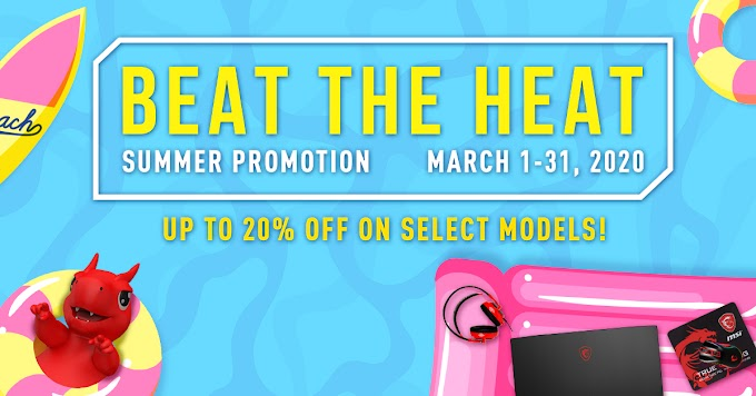 MSI Launches 'Beat the Heat!' Summer Promotion